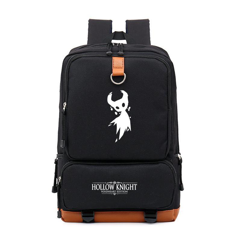 New Game Hollow Knight School Bags Anime Backpack Men Rucksack Laptop Backpacks Casual School Bag Mochila