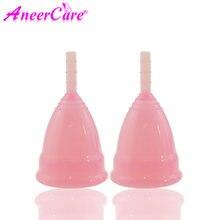 20 шт Женская менструальная чаша aneercare медицинская силиконовая