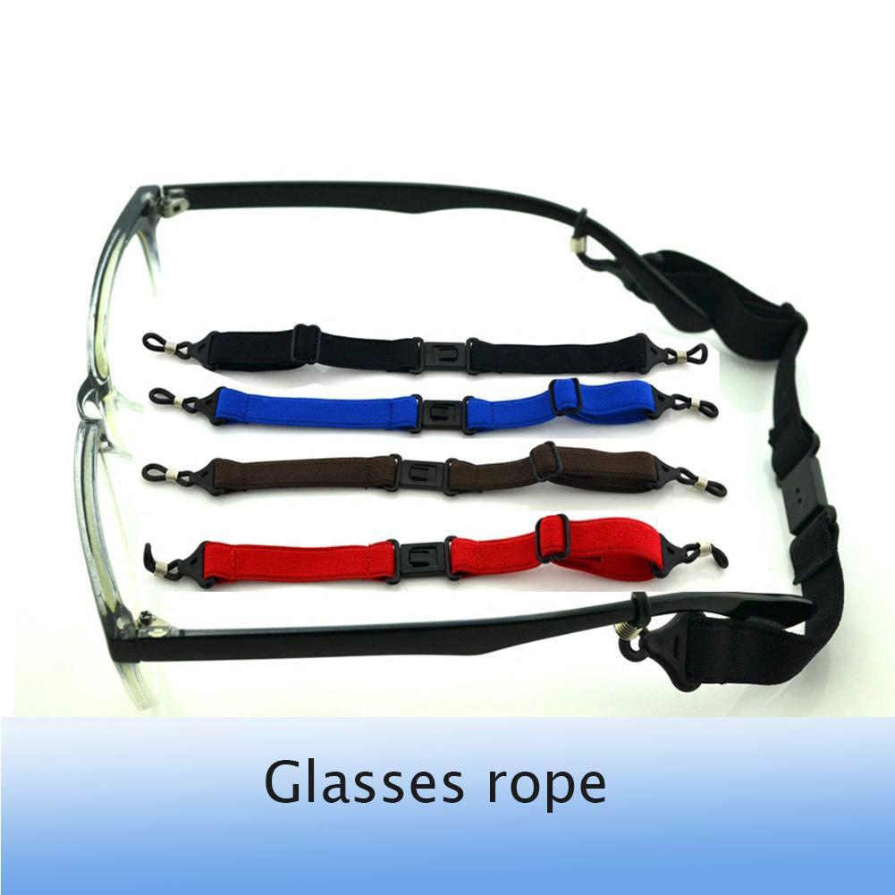 Occhiali occhiali occhiali Sport Occhiali Elastiche Anti-slip di Fissaggio Cavo della Stringa Della Corda Occhiali Holder Occhiali Cinghia Accessorio