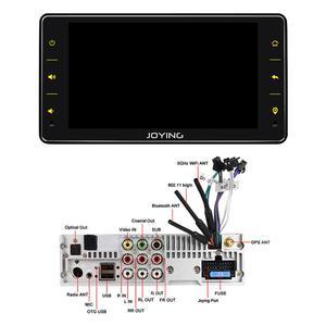 """Image 5 - Joying 6.2 """"ラジオpantalla 1ディンユニバーサルアンドロイド10 autoradioオーディオ4ギガバイト + 64ギガバイトのマルチメディアcarplayテープレコーダー光出力"""