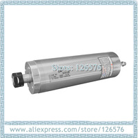 Lower speed 1500 12000rpm drilling spindle motor 2.2kw ER20 AC220V water cooled spindle motor with 4 pieces bearings