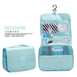 New Design Design Travel Storage Bag Hook Wash Suspension Storage Bag Make-Up Can Be Folded Hand Fnishing Convenient Oxfo