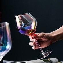 Классическая мечта Радуга косой Красное Вино Кубок кристалл шампанское Кубок