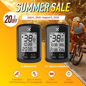 цена на XOSS GPS Bike Computer G+ Wireless Cycling Speedometer Road Bike MTB Waterproof Bluetooth ANT+ Cadence Speed Bicycle Computer