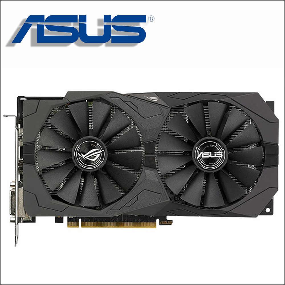 ASUS וידאו כרטיס RX 570 4GB 256Bit GDDR5 כרטיסים גרפיים עבור AMD RX 500 סדרת כרטיסי RX570 RX580 580 8G תצוגת HDMI DVI