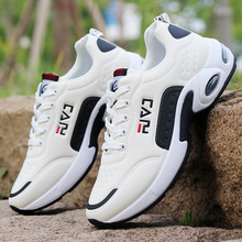 цены Men Running Shoes Air Cushion Sneakers Breathable Outdoor Walking Sport Shoes For Male Lace-up Casual Shoes Bubble Men Footwear