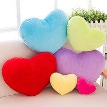 20cm/30cm/40cm kształt serca poduszka dekoracyjna PP miękka bawełniana kreatywna lalka kochanka prezent