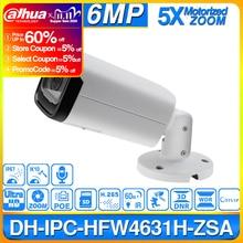 Dahua IPC HFW4631H ZSA 6MP IP מצלמה שדרוג IPC HFW4431R Z לבנות מיקרופון מיקרו SD כרטיס חריץ 5X זום PoE מצלמה