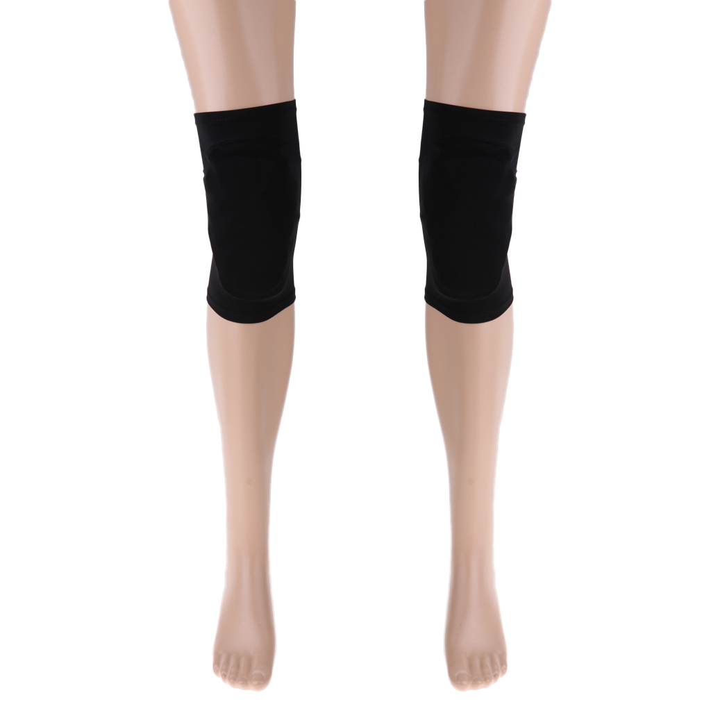 Professional Elastic Knee Pads Protector Support For Ice Roller Figure Skating Skiing Sport Riding Yoga Running