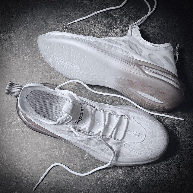 Aire de malla de los hombres es SneakersTrend cómodo zapatillas de correr para hombre verano al aire libre los hombres bajos Zapatos de deporte amortiguación no slipTraining zapatos 3