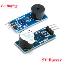 5V Active Passive Speaker Buzzer Sound Module Low Level Trigger For Arduino Electronic DIY Kit(China)