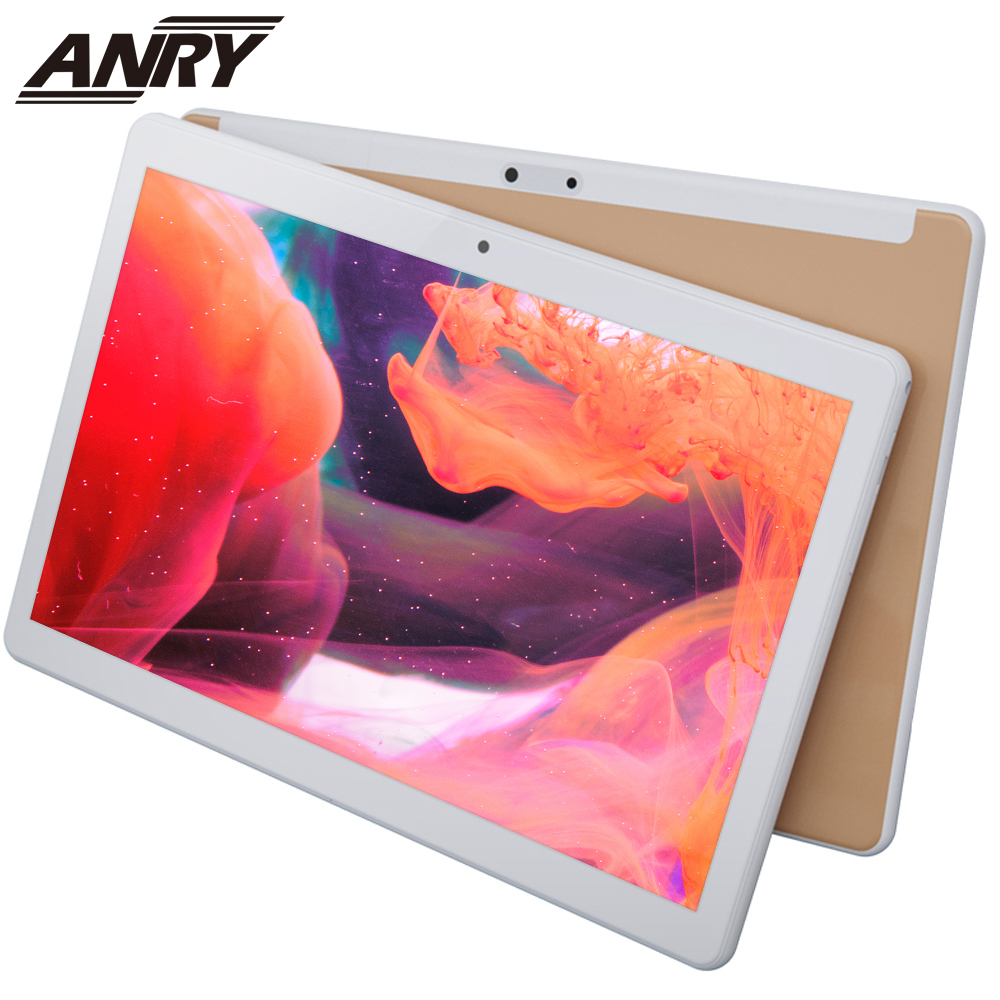 ANRY Tablet 10 Inch Tablet Pc 1GB/16GB Android 7.0 Quad Core 3G Phone Tablet Android 1280*800 IPS Tab Dual Camera Pc Tablet 10.1