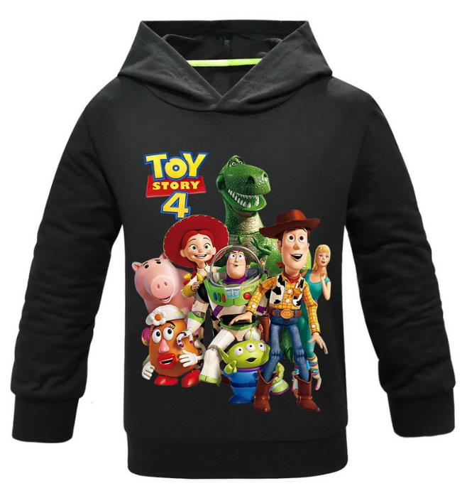 Hoodies Sweatshirt Alien Toy-Story Girls 4-Forky Pullover Woody Boys Kids Children Casual