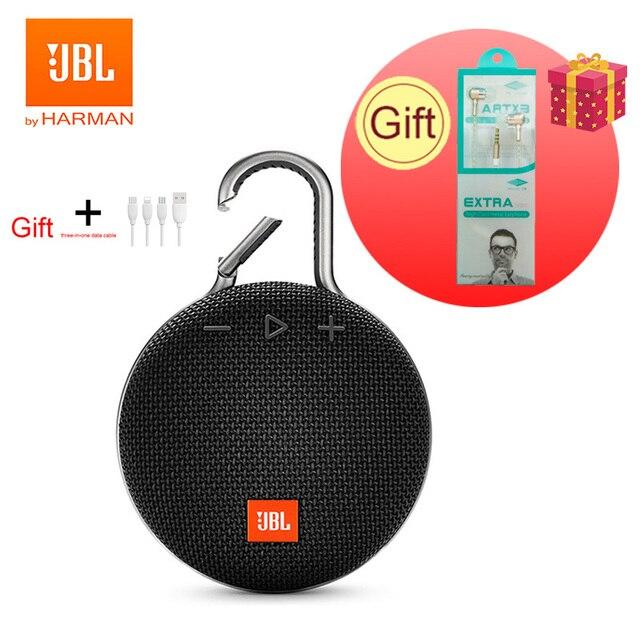 Jbl clipe 3 alto-falante sem fio bluetooth ipx7 à prova dwaterproof água esportes alto-falante portátil ao ar livre com microfone 1