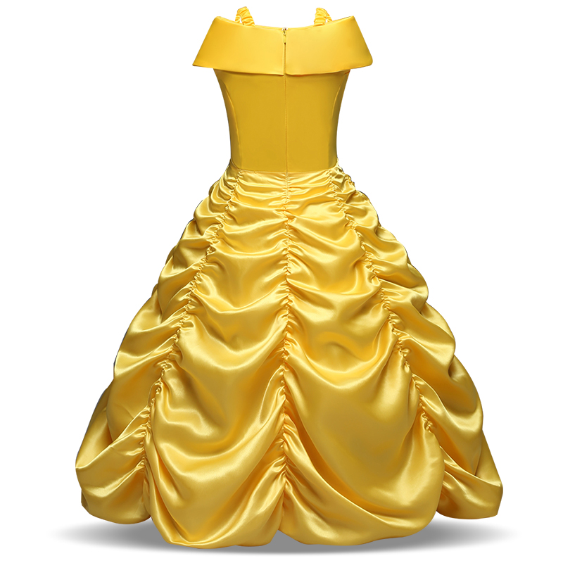 Girls Cosplay Princess Dress Halloween Costume for Children Kids Girls Party Dresses 6