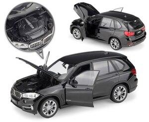 Image 3 - WELLY Coche de juguete fundido a presión a escala 1:24, BMW X5, modelo de simulación clásica, SUV, coche de juguete de aleación de Metal para niños, colección de regalos