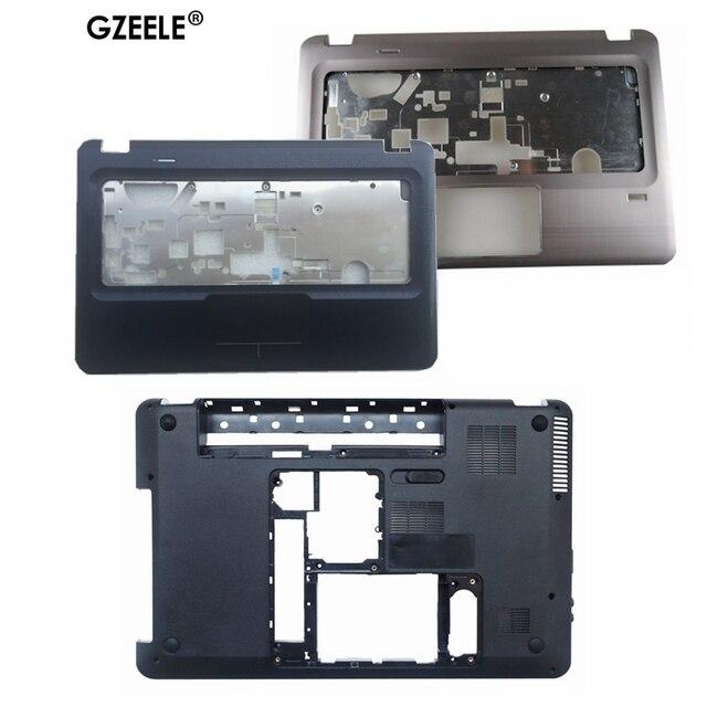 GZEELE D Base Bottom Case Cover For HP for Pavilion DV6 DV6 3000 DV6 3100 bottom 3ELX6BATP00 603689 001 Laptop lower cover shell