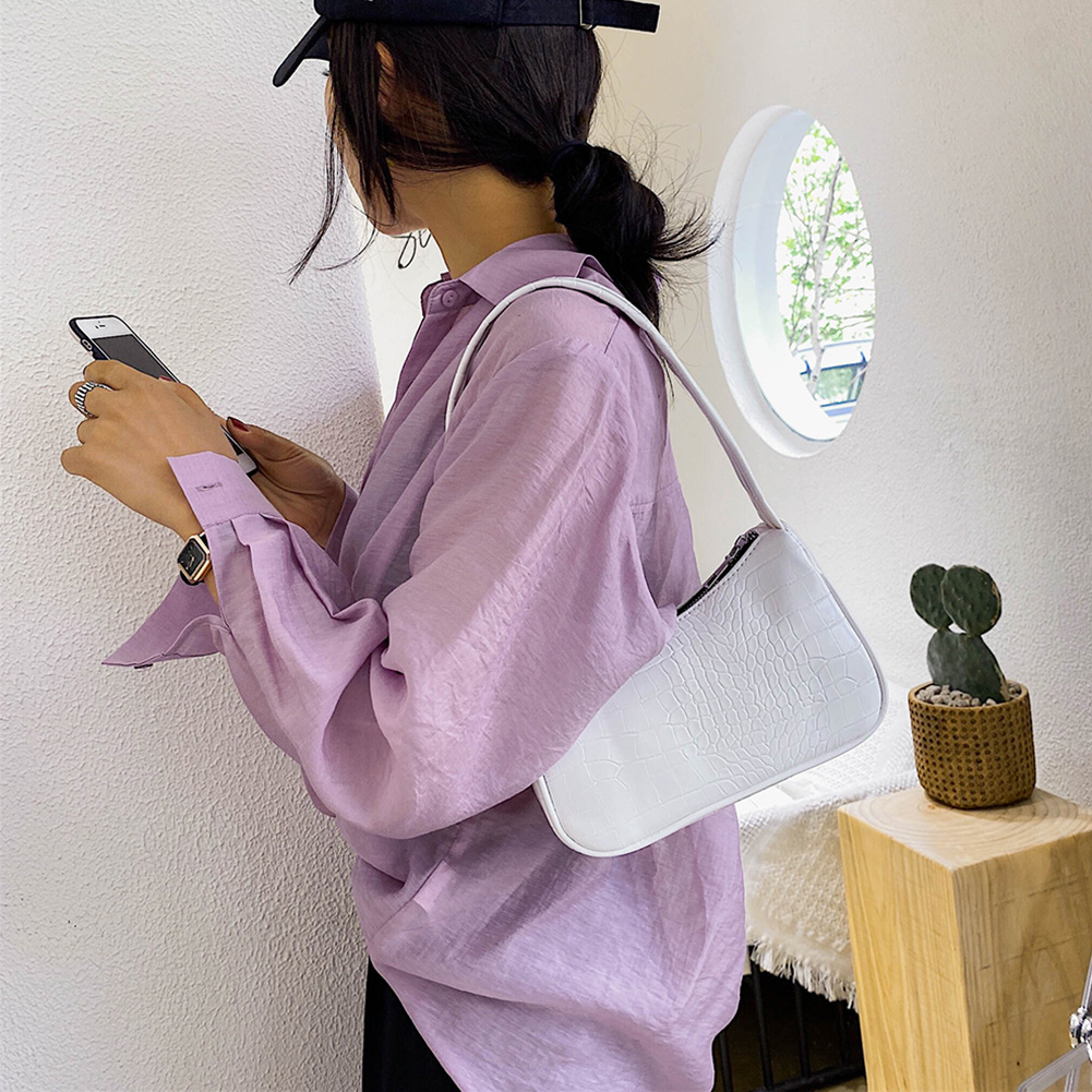 Ležerna torbica od PU kože u praćci ženska elegantna lančana - Torbe - Foto 3