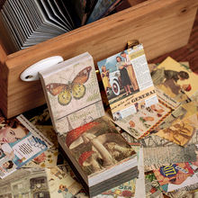 400 листов/упаковка винтажный блокнот в стиле ретро записная
