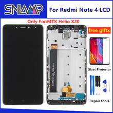 все цены на 5.5 Inch For Xiaomi Redmi Note 4 LCD touch Screen digitizer assembly For Redmi Note 4 lcd Display With Frame for MTK Helio X20 онлайн