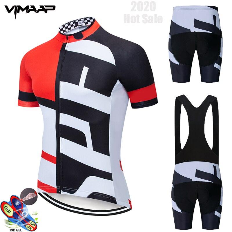 Cycling Jersey 2020 Pro Team VIMAAP Cycling Clothing MTB Cycling Bib Shorts Men Bike Jersey Set Ropa Ciclismo Triathlon