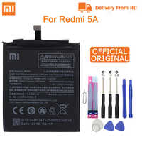 """Xiao mi batteria Del Telefono Originale BN34 PER Xiao mi rosso mi 5A 5.0 """"SOSTITUZIONE della batteria 2910mAh Ad alta capacità batterie del telefono + Strumenti"""