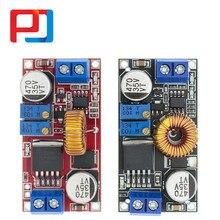 10 pçs 5a dc para dc cc cc cv bateria de lítio step down placa carregamento led conversor energia pular carregador step down módulo xl4015 e1