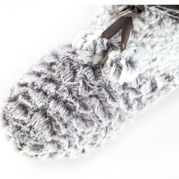2020 Home Slipper Women Fleece Slippers For Women Indoor Slippers Women Cute Ball Non-slip Indoor Shoes Women Size 36-41 4