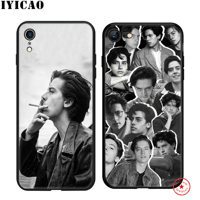 IYICAO Jughead Jones Riverdale Soft Case for iphone 11 Pro Xr Xs Max 6 6s 7 8 Plus 5 5s Se Silicone TPU 7 Plus