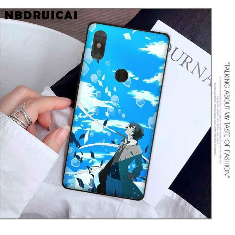 NBDRUICAI اليابان أنيمي بونغو الضالة الكلاب دازاي أوسامو قضية الهاتف ل شاومي 8 9 se 5X Redmi 6pro 6A 4X 7 5 زائد نوت 5 7 6pro