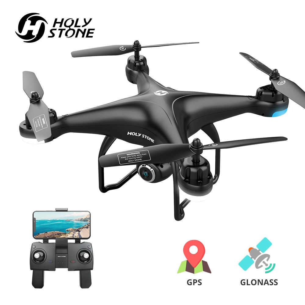 الحجر المقدس HS120D نظام تحديد المواقع RC الطائرة بدون طيار المهنية FPV 1080P HD كاميرا بدون طيار متابعة لي لتحديد المواقع غلوناس رباعية المروحية واي فاي RC هليكوبتر