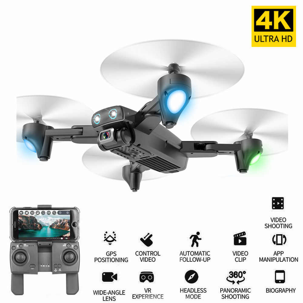 CSJ S167GPS 5G WIFI FPV RC Drone met Camera 4K GPS Drone Manier-punt Vliegende Gebaar Foto 'S video Auto Return Home RC Quadcopter