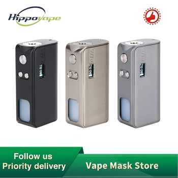 Originale Hippovape Kudos 80W Squonker MOD potenza da una batteria 18650 e bottiglia da 7.5ml scatola da scorrimento a ricarica MOD VS Drag 2/ Gen Mod