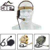 Taktische Headsets Military Bowman Evo III Headset Einseitige Jagd Kopfhörer Entfernt Mikrofon Paintball Kopfhörer WZ029-in Taktische Kopfhörer und Zubehör aus Sport und Unterhaltung bei