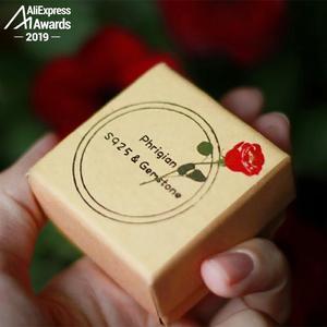 Image 5 - S925 בסדר עתיק חנות טבעת 925 כסף סטרלינג נשים בעבודת יד בציר טבעי אני אוהב אמא רובי אדום ג ספר