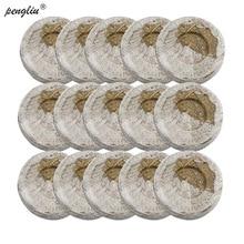 40pcs-pack 30 мм Jiffy торф гранулы блоки грунта под рассаду производитель пусковой вилки стартер роста семян профессиональный для сада