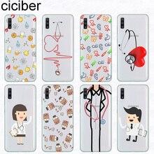 Ciciber Phone Case for Samsung Galaxy A50 A70 A80 A40 A30 A20 A60 A10 A20e Soft Silicone TPU Doctors Nurse Cover Fundas Coque