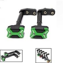 CNC Motorcycle Frame Crash Pads Engine Case Sliders Protector For KAWASAKI Z300 Z 300 2013 2014 2015 2016 cnc motorcycle frame crash pads engine case sliders protector for kawasaki z1000 2015 2016
