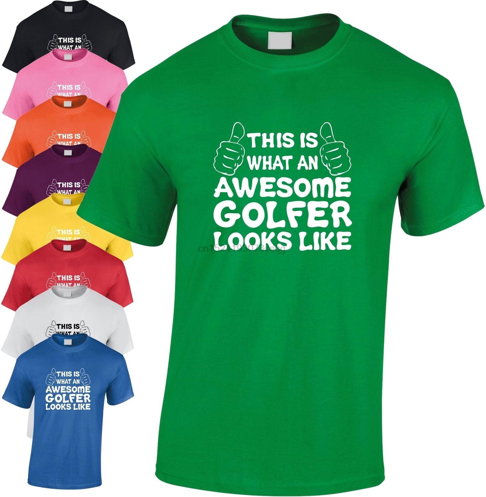 Toll Golfer Kinder T-Shirt Kinder Golfen Geschenk Weihnachtsgeschenk Club Witz