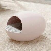 Автоматический закрытый туалет для котов коробка Большой самоочищающийся песок Туалет Обучение Cat Kit Inodoro Arenero Gato Cerrado Pet продукт 50MC76