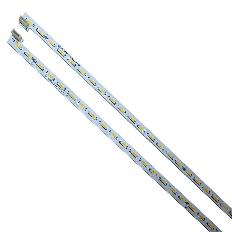 2pcs New Original 100LED Strip Circuits RF-AC550C14-5002L-01 RF-AC550C14-5002R-01 FOR 55Q1F / 55Q2F 55Q1FU/55Q2FU 60CM