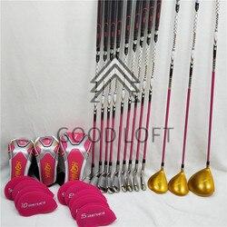 HONMA s-06, 4 звезды, гольф-клуб, женский набор для гольфа, драйв + Фарватер + Утюг для гольфа + желоб, графитовый Вал, бесплатная доставка