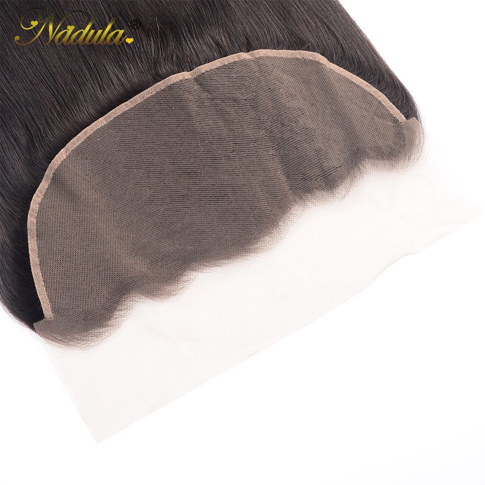 Nadula Hair 13x4 Lace Frontal Closure With Baby Hair  Straight Hair Frontal Pre Plucked ear to ear  100%  6