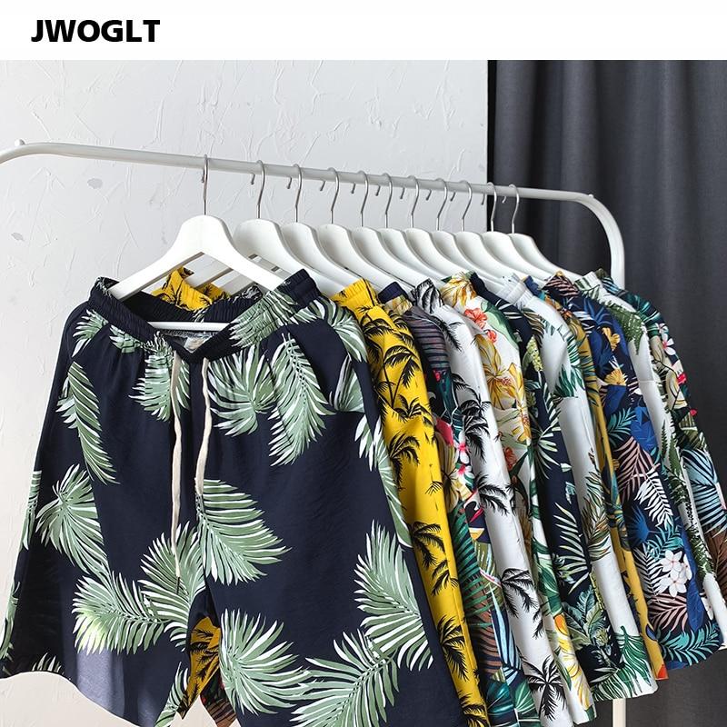 Drop Shipping Summer Mens Shorts Drawstring Waist Fashion Printed Loose Beach Bermuda Short 4XL 5XL