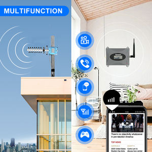 Image 4 - LCD Display GSM 900Mhz Mobile Phone Cellular Signal Booster GSM Signal Repeater Cell Phone Amplifier 3G Signal Set For Home #40