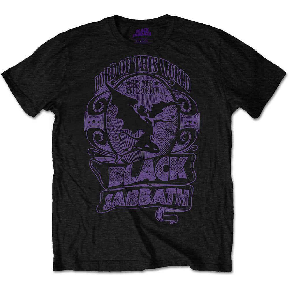 Черная футболка Sabbath 'Lord Of This World ' Новинка