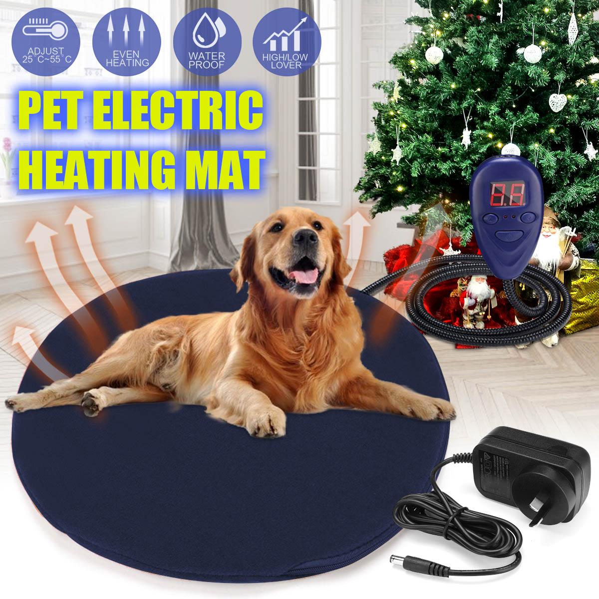 12V宠物狗小猫防水电加热加热垫垫热保护床温度可调节酿酒垫30厘米床制作工具
