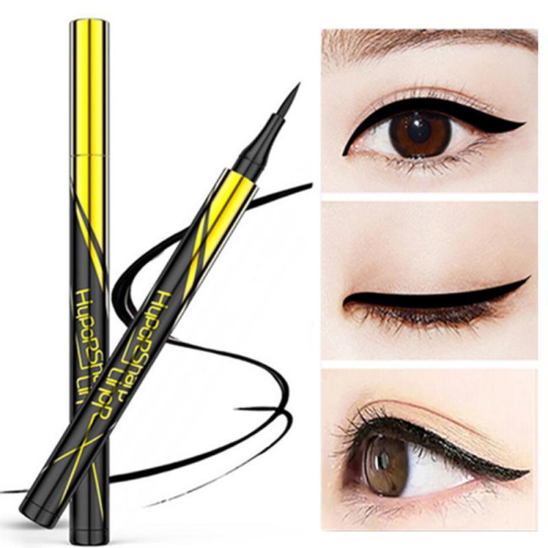 Lápiz de Ojos líquido dorado pequeño, delineador de ojos de secado rápido, resistente al agua, no florece, herramienta de maquillaje de larga duración, TSLM1
