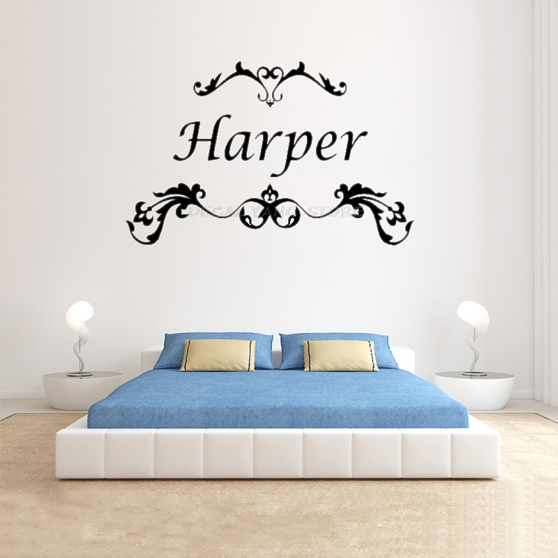 Wall Decals Nursery Baby Name