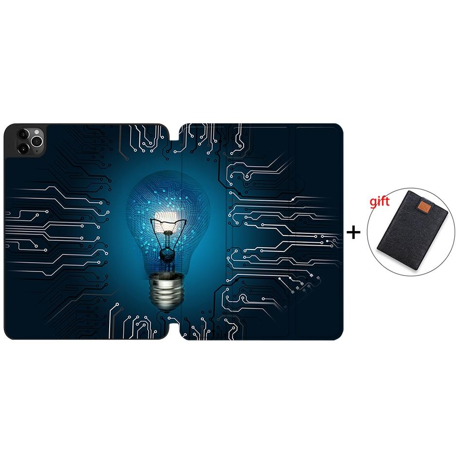 IPTPU16 Ivory MTT Case For iPad 4th Gen Pro 12 9 2020 Release A2229 A2233 Soft TPU Back